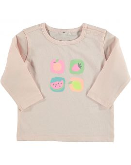 Just Born T-shirt Roze