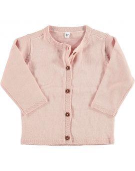 Newborn meisjes vest Roze