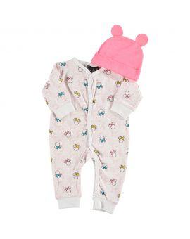 Minnie Newborn set Roze