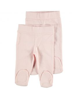Biokatoen pyjama broek Roze