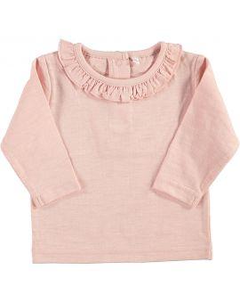 Newborn meisjes T-shirt Licht roze