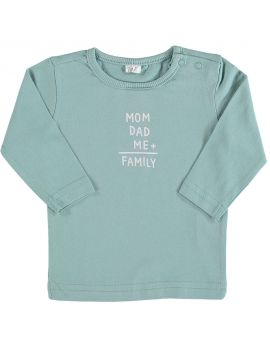 Just Born T-shirt Turquoise