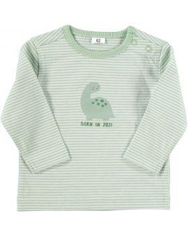 Newborn T-shirt Groen