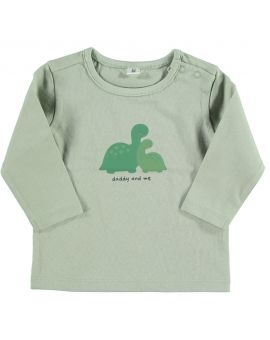 Just Born T-shirt Groen