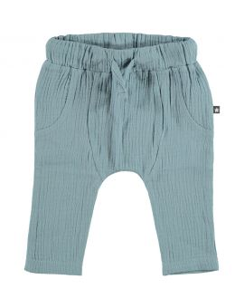 Newborn joggingbroek Denimblauw