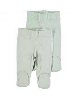 Biokatoen pyjama broek Groen