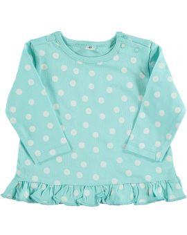Newborn T-shirt Turquoise