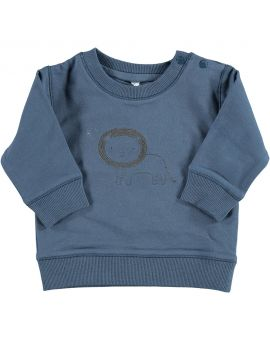Newborn sweater Blauw