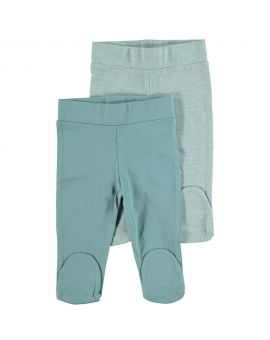 Biokatoen pyjama broek Blauw