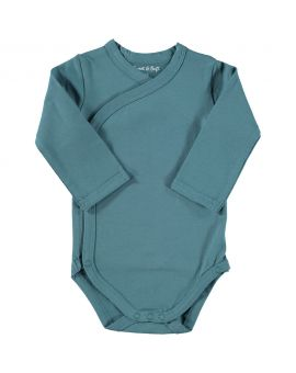 Just Born romper Blauw