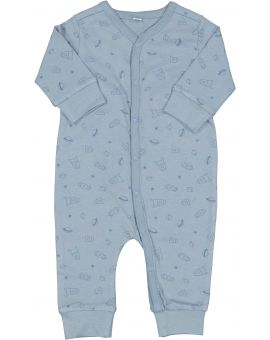 Baby pyjama Denimblauw