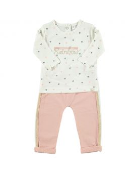 Newborn set Roze
