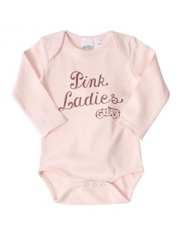 Grease Baby romper Roze