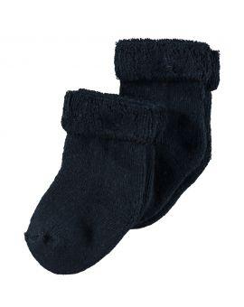 Baby sokjes Nachtblauw