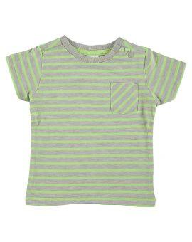 Baby T-shirt Lichtgrijs