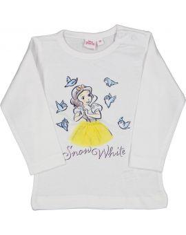 Baby meisjes T-shirt Wit