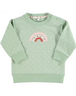 Baby sweater Groen