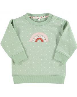 Baby sweater Groen