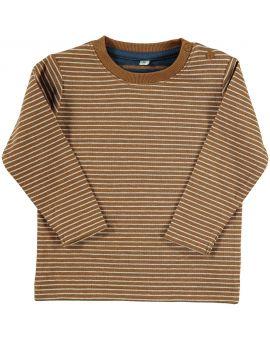 Baby jongens T-shirt Bruin