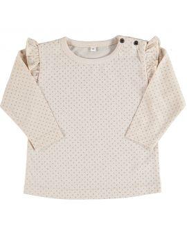 Baby meisjes T-shirt Beige