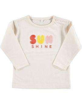 Baby T-shirt Beige