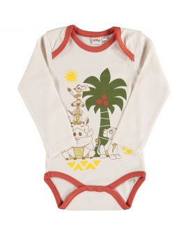 The Lion King Baby romper Grijs