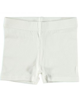 Baby short Wit