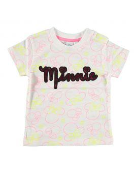 Minnie Baby T-shirt Wit
