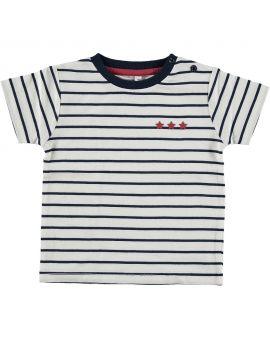 Baby jongens T-shirt Wit