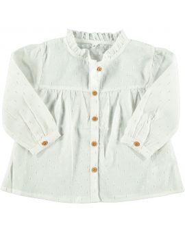 Baby meisjes blouse Wit