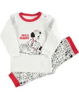 101 Dalmatiërs Baby pyjama Wit