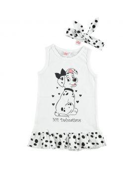 101 Dalmatiërs Baby jurkje Wit