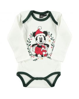 Mickey Baby romper Wit