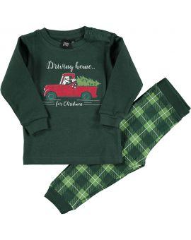 Mickey Baby pyjama Groen