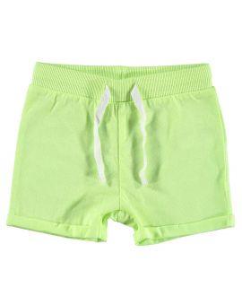 Baby jongens short Lime