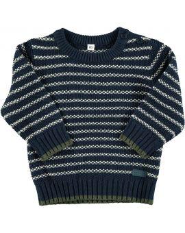 Baby sweater Geel