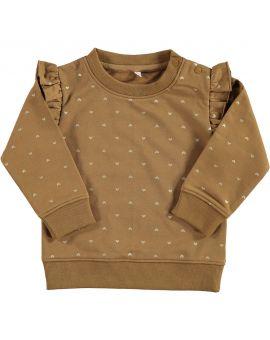 Baby meisjes sweater Camel