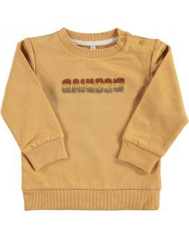Baby sweater Okergeel