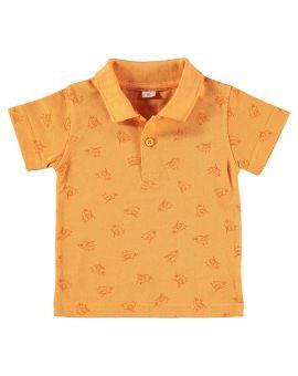 Baby jongens polo Oranje
