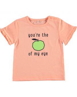 Baby T-shirt Neon Oranje