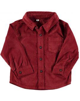 Baby jongens blouse Rood