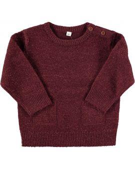 Baby meisjes sweater Rood