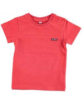 Baby jongens T-shirt Rood