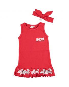 101 Dalmatiërs Baby jurkje Rood