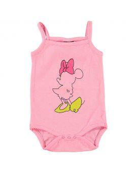 Minnie Baby romper Roze