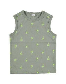 Baby jongens T-shirt Groen