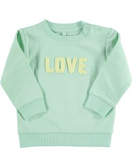 Baby sweater Mint