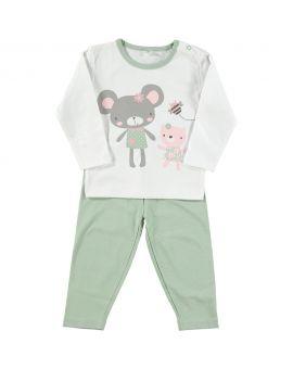 Baby pyjama Mint