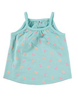Baby meisjes singlet Turquoise