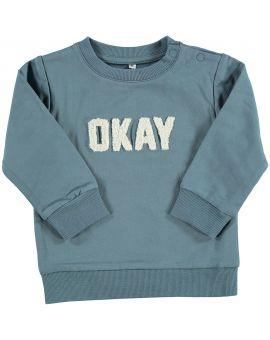 Baby sweater Blauw